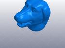 十二生肖 狗头 模型 3D模型 图1