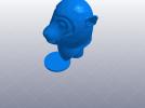 十二生肖 猴头 模型 3D模型 图1