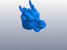 十二生肖 龙头 模型 3D模型