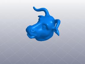 十二生肖 牛头 模型 3D模型
