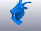 十二生肖 羊头 模型 3D模型 图1