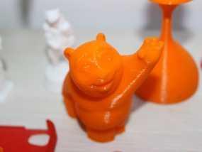 可爱大熊一只 3D模型