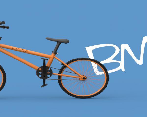 创意小汽车  3D模型  图1