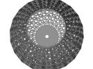 克里灯罩 3D模型 图1