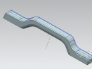 行旅箱-把手 3D模型 图1