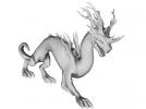 英雄无敌-马拉萨,黑暗之龙3D打印手办 3D模型 图1