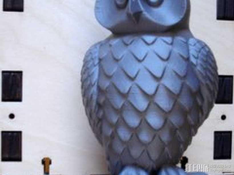 猫头鹰 3D模型  图1