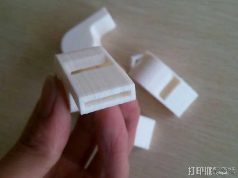 哨子 3D模型  图1