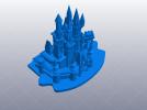 灰姑娘的城堡 3D模型 图1