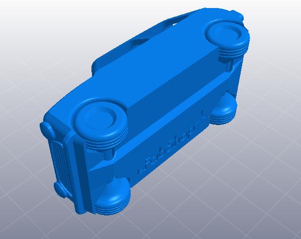 玩具小车 3D模型  图2