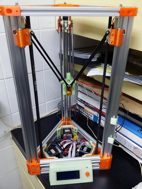2040立柱的3D打印机 3D模型  图3