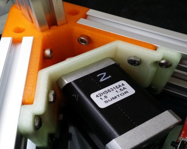 2040立柱的3D打印机 3D模型  图4