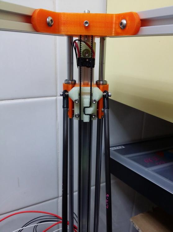 2040立柱的3D打印机 3D模型  图5