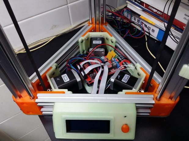 2040立柱的3D打印机 3D模型  图2