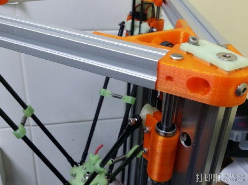 2040立柱的3D打印机 3D模型  图6