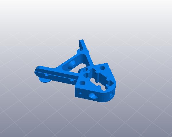 2040立柱的3D打印机 3D模型  图9