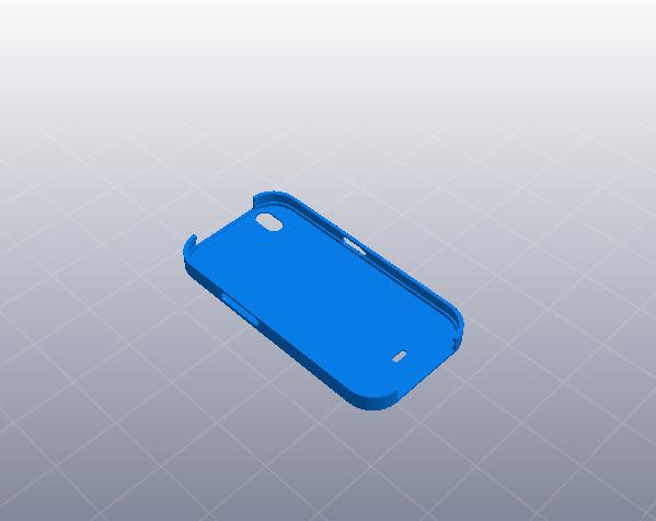 iphone手机外壳 简洁版  3D模型  图2