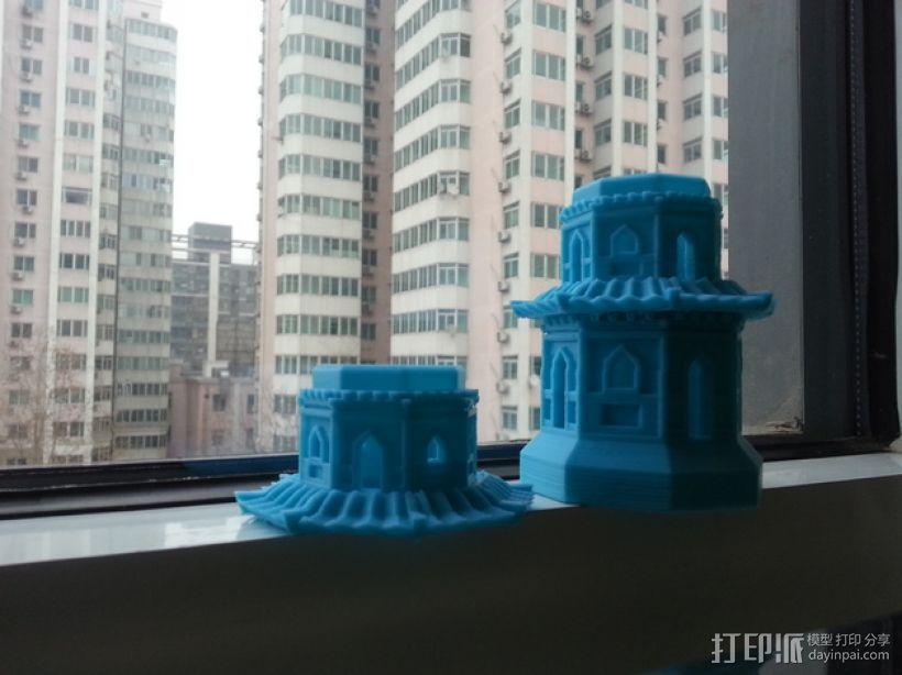 玉峰塔 3D模型  图1