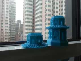 玉峰塔 3D模型