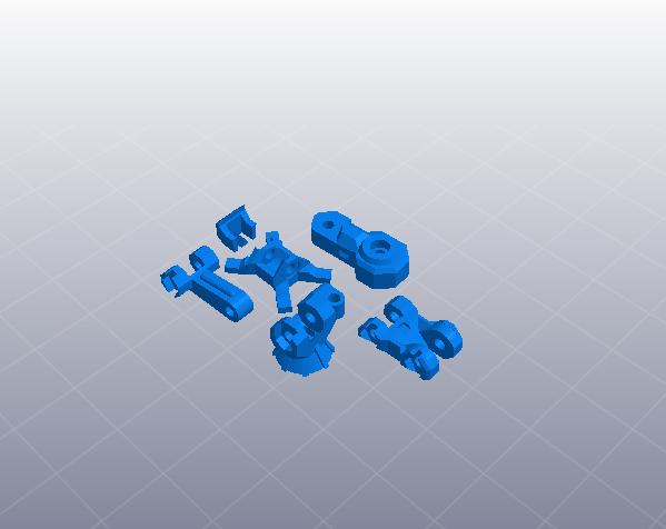 苍鹰机甲 3D模型  图4
