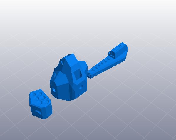 苍鹰机甲 3D模型  图3