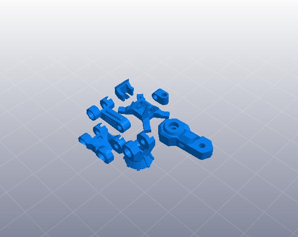 苍鹰机甲 3D模型  图5