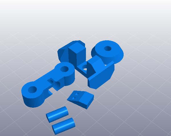 苍鹰机甲 3D模型  图2