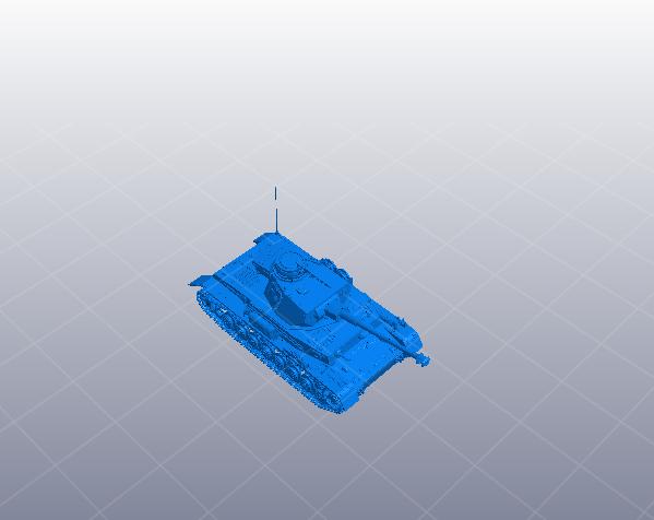 德国高细节坦克 3D模型  图1