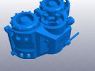 橡皮筋动力车 3D模型 图4