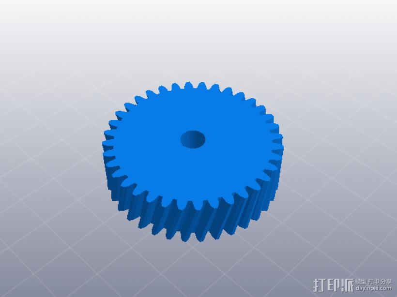 四速变速与H移位变速箱 3D模型  图8