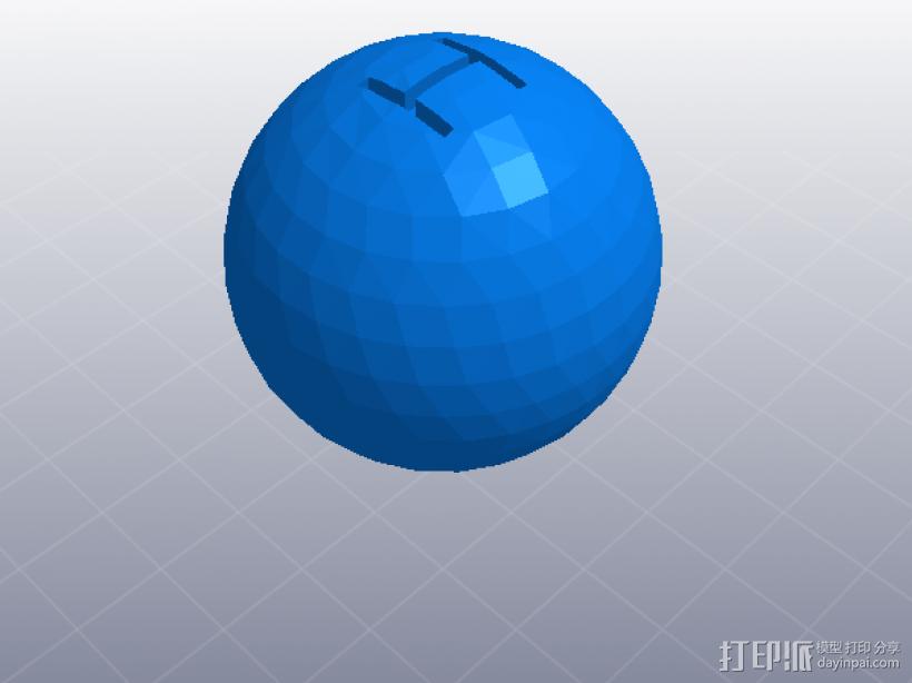 四速变速与H移位变速箱 3D模型  图11