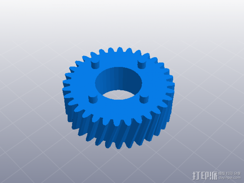 四速变速与H移位变速箱 3D模型  图9