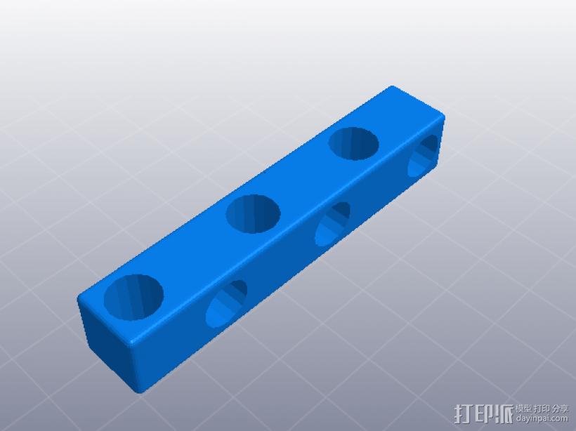 四速变速与H移位变速箱 3D模型  图19