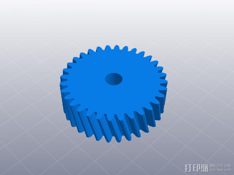 四速变速与H移位变速箱 3D模型  图10