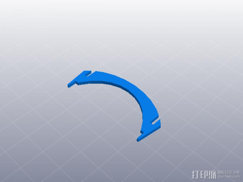 齿轮组合玩具大集合 3D模型  图1