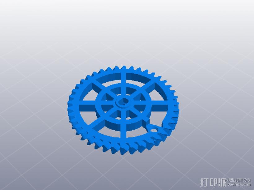 齿轮组合玩具大集合 3D模型  图8