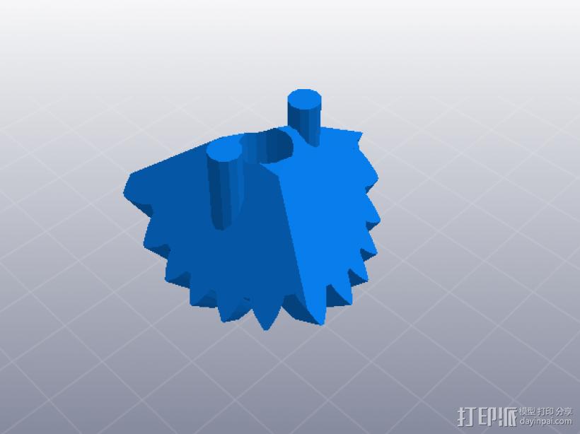 齿轮组合玩具大集合 3D模型  图6
