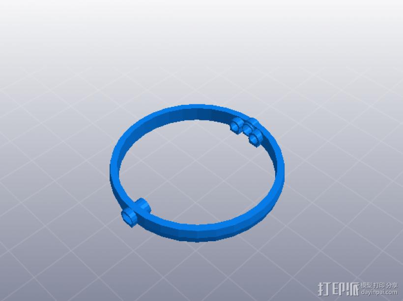 齿轮组合玩具大集合 3D模型  图22