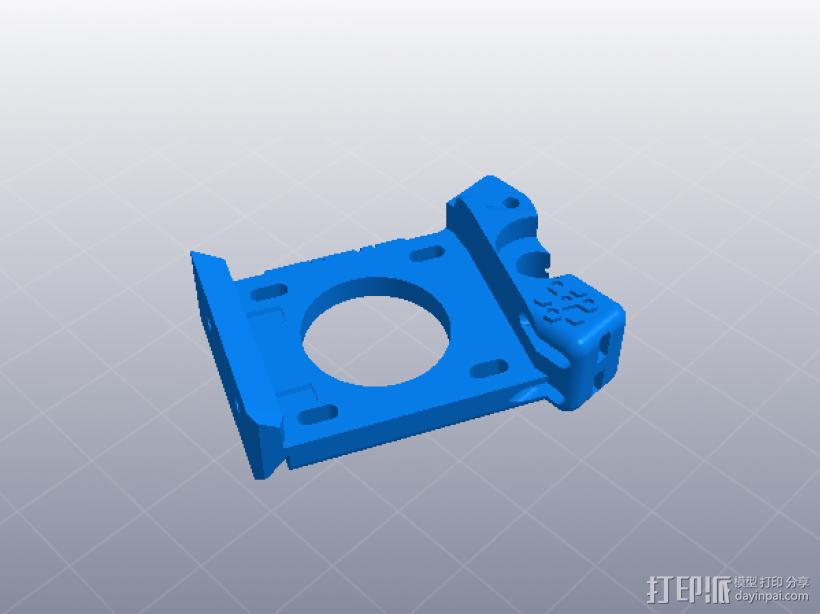 大齿轮挤出机 3D模型  图4