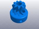 大齿轮挤出机 3D模型 图1