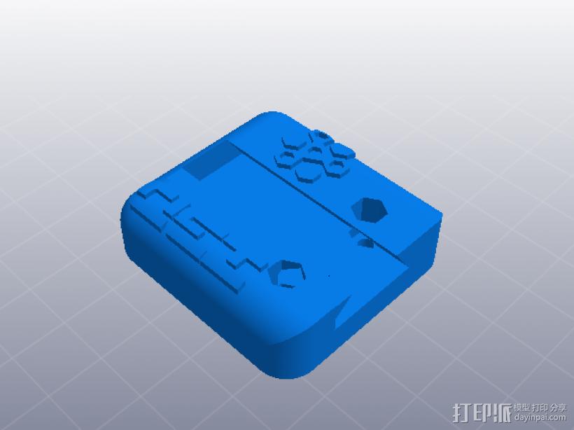 大齿轮挤出机 3D模型  图5
