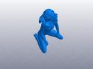 裸女 的艺术 3D模型 图1