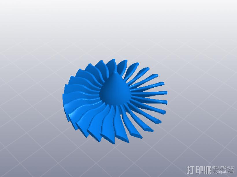 喷气发动机 3D模型  图10