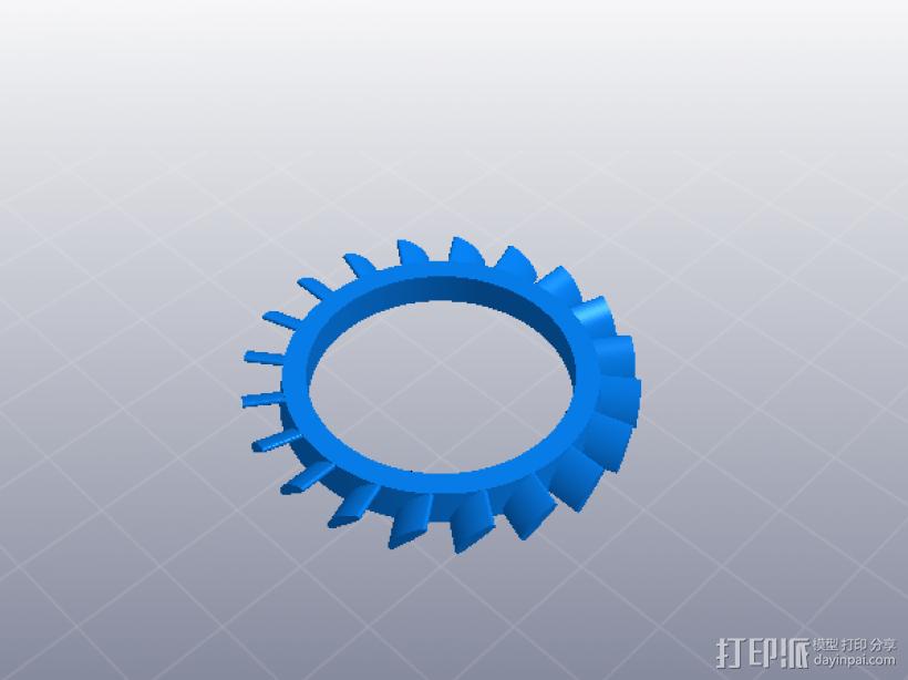 喷气发动机 3D模型  图7