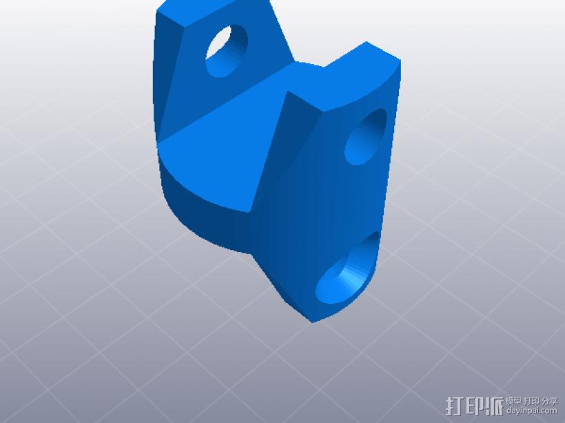 万向节 3D模型  图3