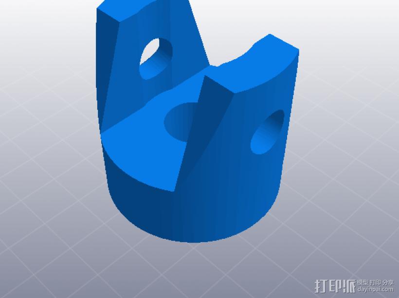 万向节 3D模型  图4