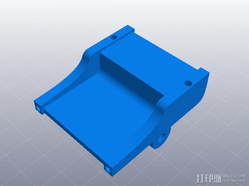 人力车 组合玩具 3D模型  图3