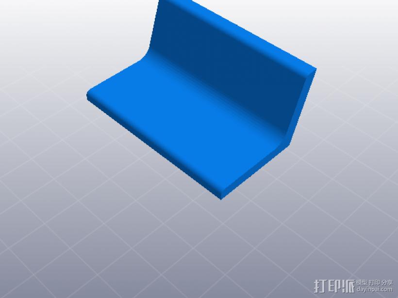 人力车 组合玩具 3D模型  图4