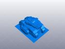 微型坦克 3D模型 图1