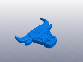 芝加哥 公牛标识 3D模型